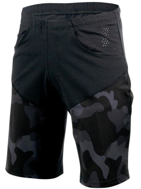 Bioracer Lobby Shorts Unisex black-camo